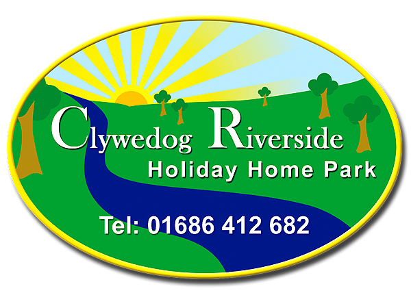 Clywedog Riverside Holiday Home Park Branding Design