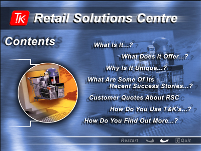 Retail Solutions Centre - Business Presentation - London