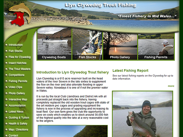 Clywedog Trout Fishing - Llanidloes and District Angling Association